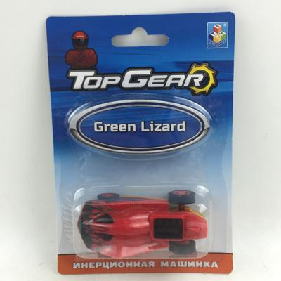 Машина инерц. Т10317 Top Gear Green Liza
