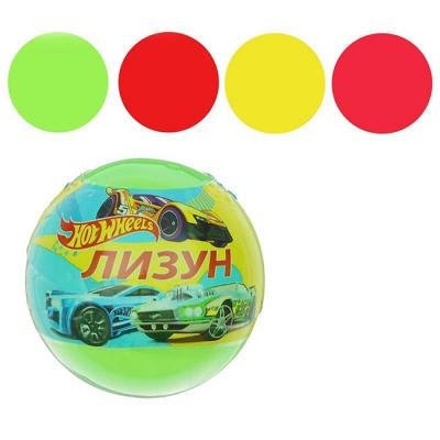 Лизун шар Hot Wheels 6,5*6,5см 75гр. 901