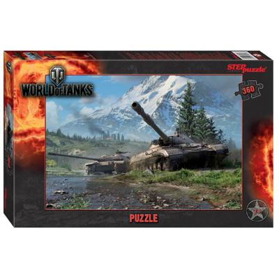 Пазл 360 World of Tanks 96078 Степ /12/