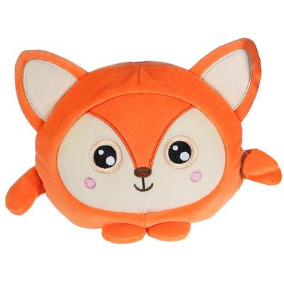 Squishimals Лиса рыжая плюш 20см 1toy Т1